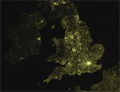 Mapping Wikipedia - English by Density, Europe