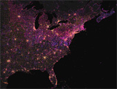 Mapping Wikipedia - English by Number of Authors, US