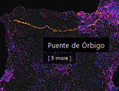 Mapping Wikipedia - French by Number of Images